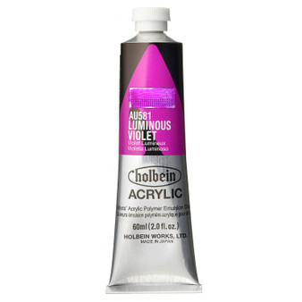 Holbein Heavy Body Acrylic 60 ml Luminous Violet