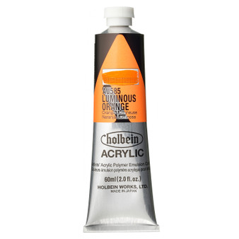 Holbein Heavy Body Acrylic 60 ml Luminous Orange