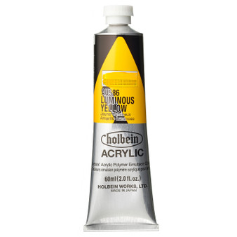 Holbein Heavy Body Acrylic 60 ml Luminous Yellow