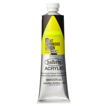 Holbein Heavy Body Acrylic 60 ml Luminous Lemon