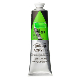 Holbein Heavy Body Acrylic 60 ml Luminous Green