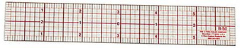"C-Thru Beveled Graph Ruler 18"" x 2"""