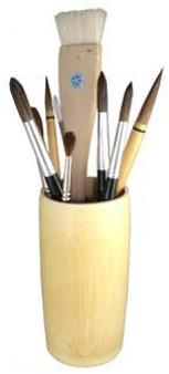 Yasutomo Brush Vase S 6-Inch