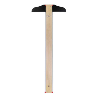 Pacific Arc Traditional Maple Blade with Acrylic Edge 18-Inch T-Square
