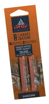 Conte Crayon 2-Pack (Traditional): Natural Sanguine