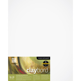 Ampersand Museum Series Claybord Cradled 1.5-inch 16x20