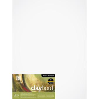 Ampersand Museum Series Claybord Cradled 1.5-inch 18x24