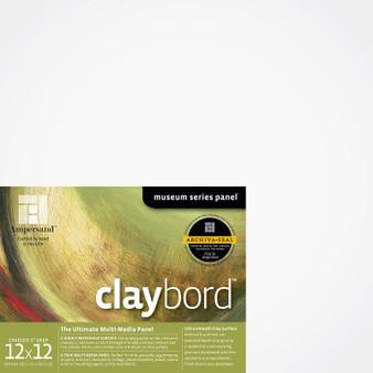 Ampersand Museum Series Claybord Cradled 2-Inch 12x12