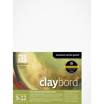 Ampersand Museum Series Claybord Cradled 2-Inch 9x12