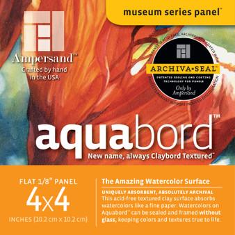 Ampersand Museum Series Aquabord Flat 4x4 4pk