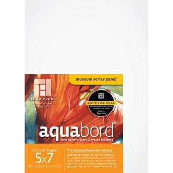 Ampersand Museum Series Aquabord Flat 5x7 3pk