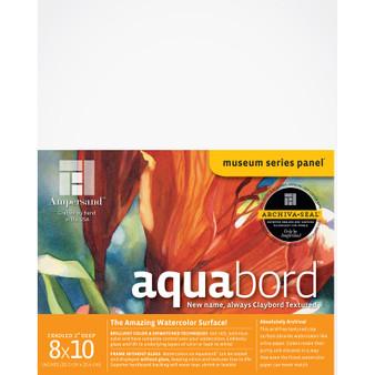 Ampersand Museum Series Aquabord Cradled 2-Inch 8x10