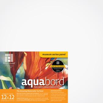 Ampersand Museum Series Aquabord Cradled 2-Inch 12x12