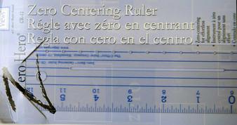 """C-Thru Zero Centering Ruler 12"""""""