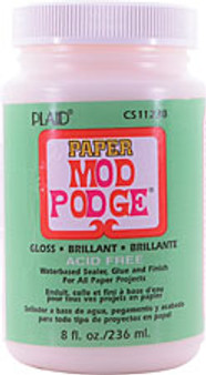 Mod Podge for Paper Gloss Finish 8oz Jar