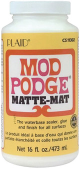Mod Podge Matte Finish 16oz Jar