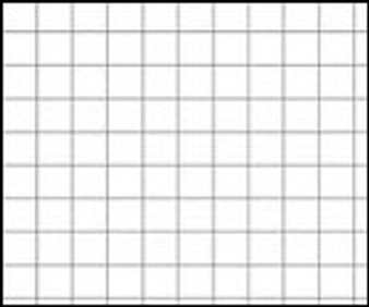 "8x8 Cross Section Grid Paper 17x22"" Individual Sheet"