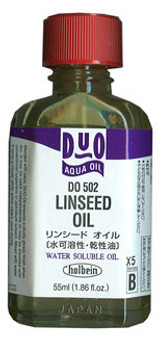 Holbein Duo Linseed Oil 55ml