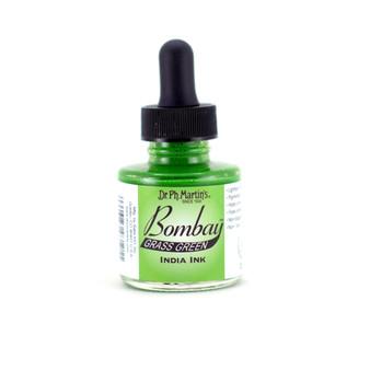 Dr. Ph. Martin Bombay Ink 1oz Grass Green