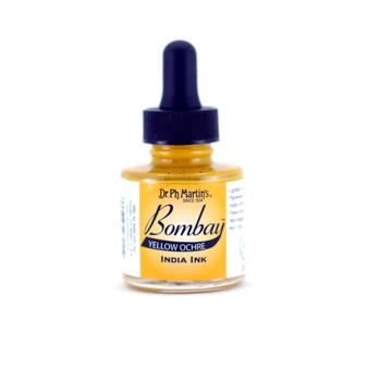 Dr. Ph. Martin Bombay Ink 1oz Yellow Ochre