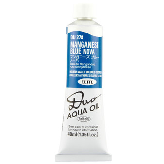 Holbein Duo Aqua Oil Series B 40ml: Manganese Blue Nova