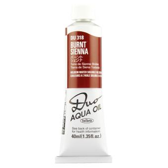 Holbein Duo Aqua Oil Series A 40ml: Burnt Sienna