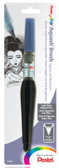 Pentel Aquash Brush Light Black Wash