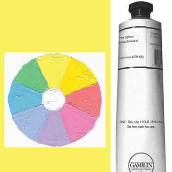 Gamblin Artist Oil Paint 150ml Radiant Lemon