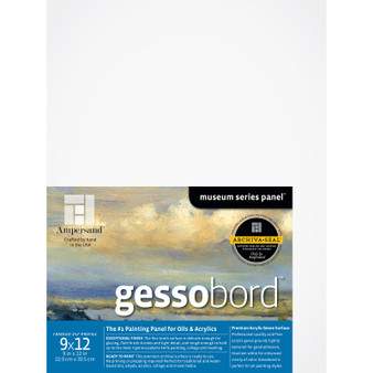 Ampersand Museum Series Gessobord Cradled 1.5-inch 9x12