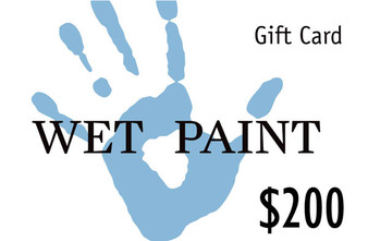 Wet Paint Gift Card $200