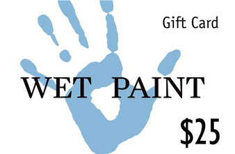 Wet Paint Gift Card $25