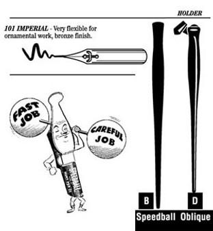 Speedball Pen Nib Imperial Pen 101
