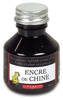 J. Herbin Ink 50ml China Ink Black