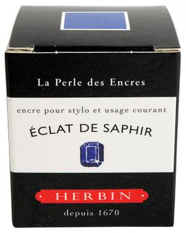 J. Herbin Fountain Pen Ink 30ml Eclat De Saphir
