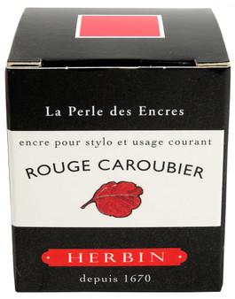 J. Herbin Fountain Pen Ink 30ml Rouge Caroubier
