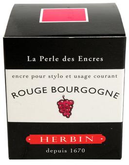 J. Herbin Fountain Pen Ink 30ml Rouge Bourgogne