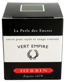 J. Herbin Fountain Pen Ink 30ml Vert Empire
