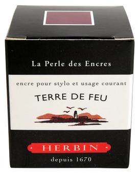 J. Herbin Fountain Pen Ink 30ml Terre De Feu