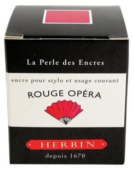 J. Herbin Fountain Pen Ink 30ml Rouge Opera