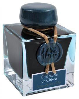"J. Herbin ""1670"" Anniversary Ink Emerald of Chivor"