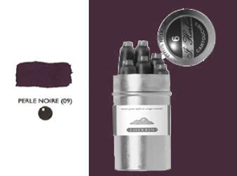 J. Herbin Fountain Pen Ink Cartridges 6pk Perle Noire