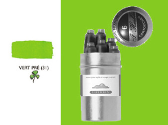 J. Herbin Fountain Pen Ink Cartridges 6pk Vert Pre