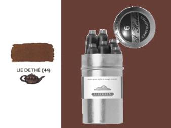 J. Herbin Fountain Pen Ink Cartridges 6pk Lie De The
