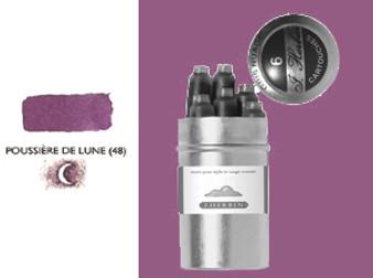 J. Herbin Fountain Pen Ink Cartridges 6pk Poussir De Lune