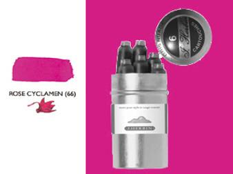 J. Herbin Fountain Pen Ink Cartridges 6pk Rouge Cyclamen