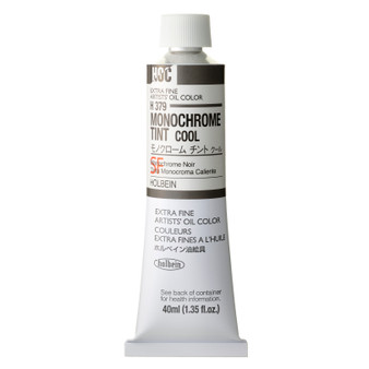 Holbein Artists Oil 40ml Monochrome Cool