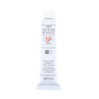 Holbein Artists Oil 50ml Silver White