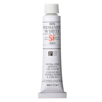 Holbein Artists Oil 50ml Permanent White SF