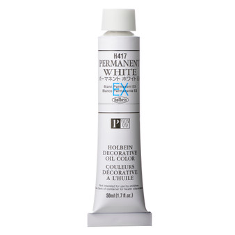 Holbein Artists Oil 50ml Permanent White EX