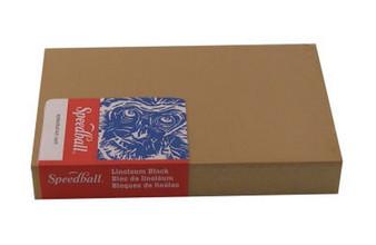Speedball Mounted Linoleum Block 4x6